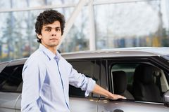 Car buying Royalty Free Stock Photography