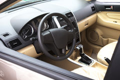 Car cab interior Royalty Free Stock Images
