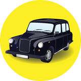 Car cab taxi vector illustration. Car taxi vector illustration  on white background Stock Photography