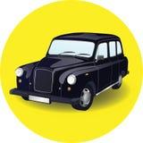 Car cab taxi vector illustration Stock Photography