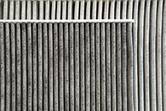 Car cabin filters Stock Image