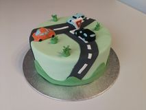 Car cake royalty free stock images