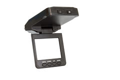 Car camera dvr for recording traffic Royalty Free Stock Photo