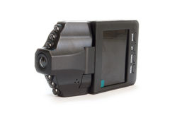 Car camera dvr for recording traffic Stock Images