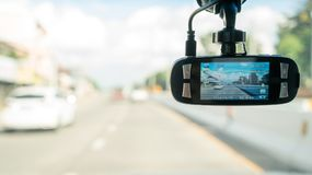 Car camera for safety Royalty Free Stock Photography