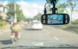 Car camera for safety Stock Photo