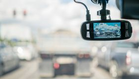 Car camera for safety Stock Image