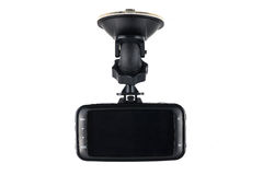 Car camera video recorder isolated on white background Royalty Free Stock Photo
