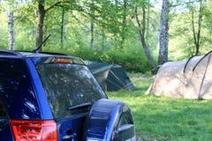 Car camping Royalty Free Stock Photos