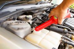 Car care as radiator Stock Photo