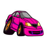 Car caricature Royalty Free Stock Images