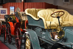 The Car and Carriage Caravan Museum in Luray, Virginia Royalty Free Stock Photo
