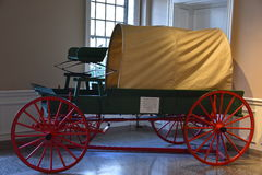 The Car and Carriage Caravan Museum in Luray, Virginia Stock Image