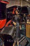 Car and carriage caravan museum Stock Image