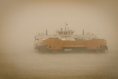 Car carrier ship Royalty Free Stock Photography