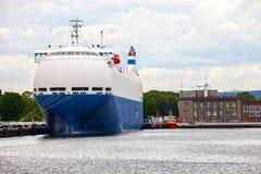 Car carrier ship Stock Photo