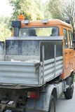 Car carrying material from demolition Royalty Free Stock Photography