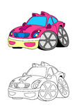 Car cartoon 1 Stock Image