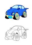 Car cartoon 10 Royalty Free Stock Photography