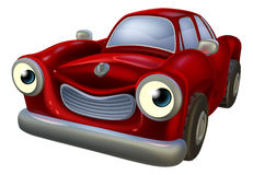 Car cartoon character Stock Photography