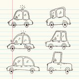 Car cartoon collection royalty free illustration