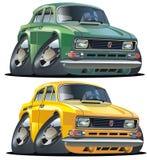car cartoon muscle vector Στοκ εικόνα με δικαίωμα ελεύθερης χρήσης