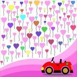 Car cartoon Royalty Free Stock Image