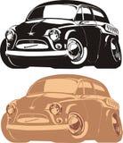 car cartoon retro vector Στοκ φωτογραφίες με δικαίωμα ελεύθερης χρήσης