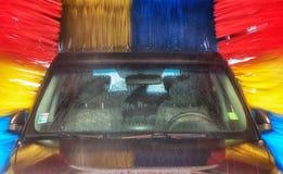 Car in carwash Stock Photography