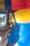 Car in carwash Stock Photo