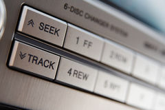 Car CD-changer Royalty Free Stock Images