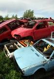Car cemetery Stock Photos