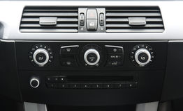 Car central console Royalty Free Stock Image