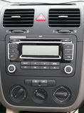 Car centre console Royalty Free Stock Images