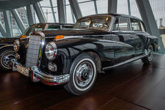 Car of Chancellor Konrad Adenauer, Mercedes-Benz Type 300d (W189), 1959 Royalty Free Stock Images