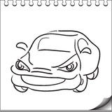 Car character Royalty Free Stock Photos