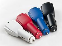 car charger Stock Photo
