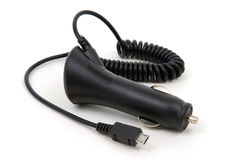 Car charger, USB Royalty Free Stock Image