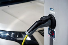 Car charging stock photos