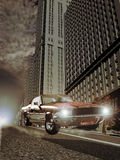 Car chase Stock Images