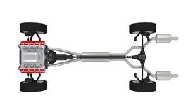 Car Chassis Stock Photography