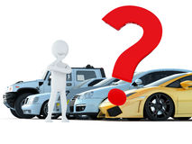 Car choice Stock Images