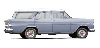 car clasic profile Στοκ Εικόνες