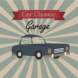 Car classic Royalty Free Stock Images