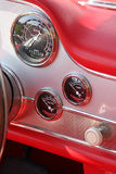 Car classic Dashboard Stock Images