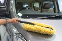 Car cleaning 1 Stock Images