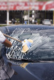 Car cleaning Royalty Free Stock Photos
