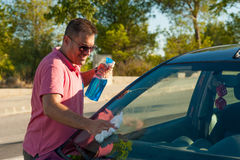 Car cleaning Stock Photography