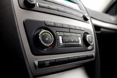 Car climate control Stock Photos