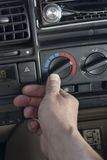 Car Climate Control Stock Image